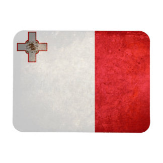 Flag of Malta Rectangular Magnets
