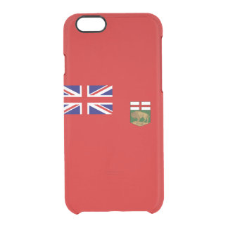 Flag of Manitoba Clear iPhone Case
