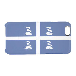 Flag of Martinique Clear iPhone Case