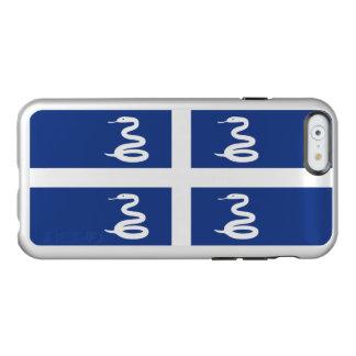 Flag of Martinique Silver iPhone Case Incipio Feather® Shine iPhone 6 Case