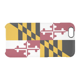 Flag of Maryland Clear iPhone Case