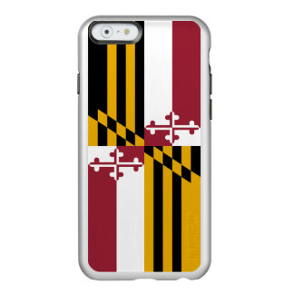 Flag of Maryland Silver iPhone Case Incipio Feather® Shine iPhone 6 Case