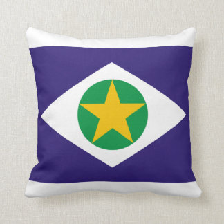 Flag of Mato Grosso, Brazil Cushion