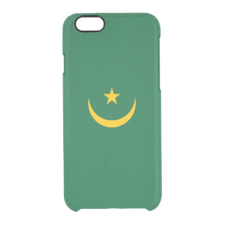 Flag of Mauritania Clear iPhone Case