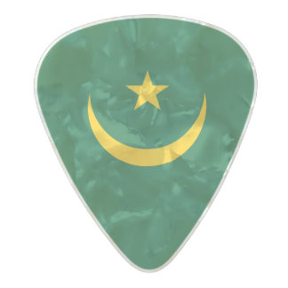Flag of Mauritania Guitar Picks