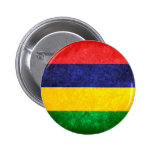 Flag of Mauritius Buttons
