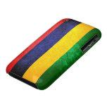 Flag of Mauritius iPhone 3 Cases