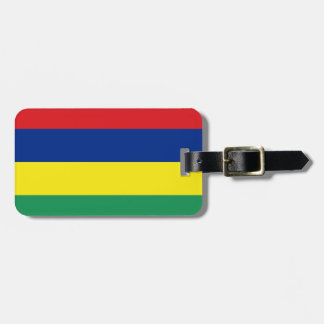 Flag of Mauritius Personal Easy ID Luggage Tag