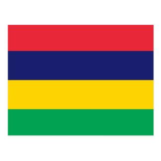 Flag of Mauritius Postcard