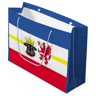 Flag of Mecklenburg-Western Pomerania Large Gift Bag