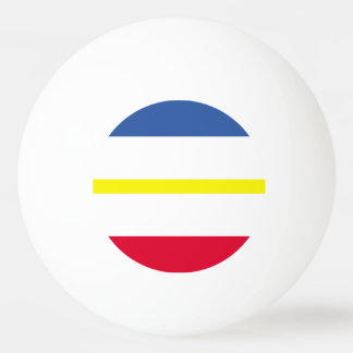 Flag of Mecklenburg-Western Pomerania Ping Pong Ball