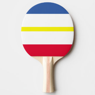 Flag of Mecklenburg-Western Pomerania Ping Pong Paddle
