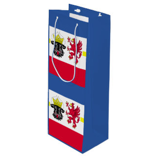 Flag of Mecklenburg-Western Pomerania Wine Gift Bag