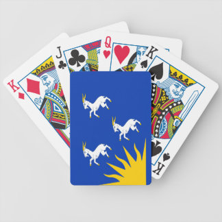 Flag of Merionethshire Bicycle Playing Cards
