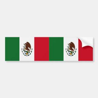 Flag of Mexico Bumper Sticker