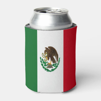 Flag of Mexico Can Cooler