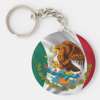 Flag of Mexico, Coat of Arms Key Ring