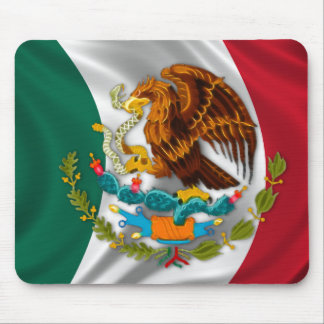 Flag of Mexico, Coat of Arms Mouse Mat