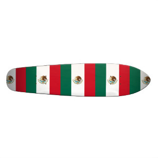 Flag of Mexico Custom Skate Board