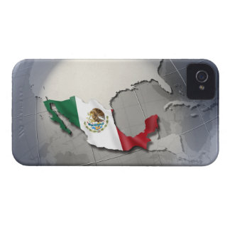 Flag of Mexico iPhone 4 Case
