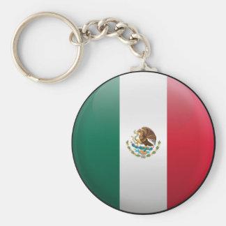Flag of Mexico Key Ring