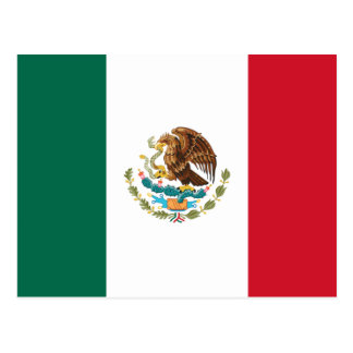 Flag of Mexico Postcard