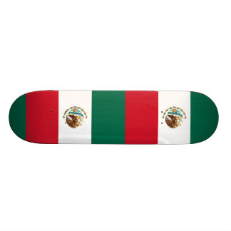 Flag of Mexico Skate Board Decks