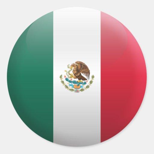 Flag of Mexico Sticker