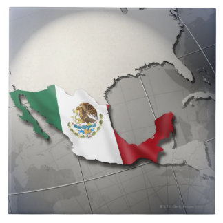 Flag of Mexico Tile