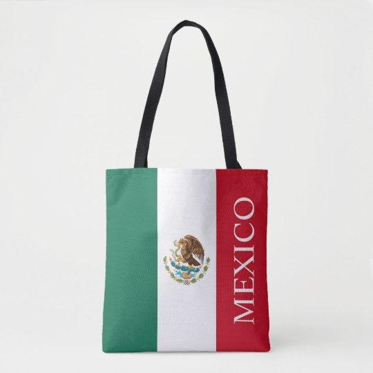 Flag of Mexico Tote Bag