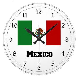 Flag of Mexico Wallclock