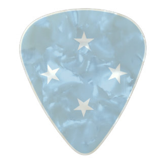 Flag of Micronesia Guitar Picks