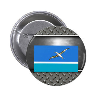 Flag of Midway Islands 6 Cm Round Badge
