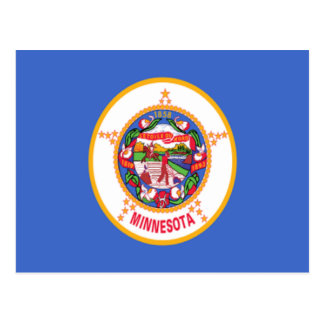 Flag of Minnesota Postcard
