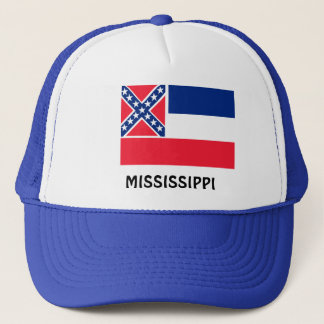 Flag of Mississippi Trucker Hat