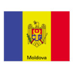 Flag of Moldova Post Cards