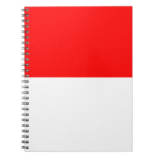 Flag of Monaco Notebook
