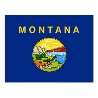 Flag of Montana Post Cards