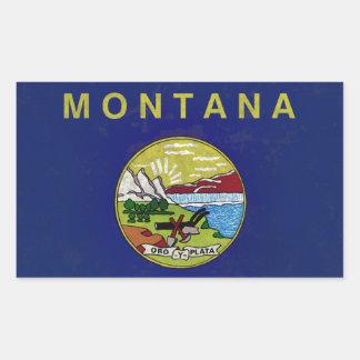 Flag of Montana Rectangular Sticker