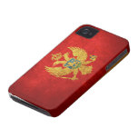Flag of Montenegro iPhone 4 Cover