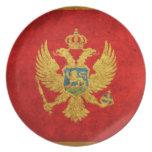 Flag of Montenegro Plate