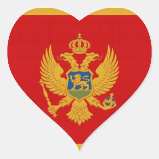 Flag of Montenegro Sticker