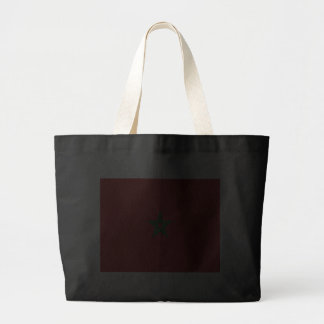 Flag of Morocco Tote Bags