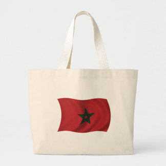 Flag of Morocco Canvas Bags