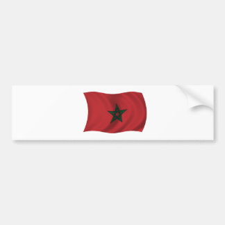 Flag of Morocco Bumper Sticker
