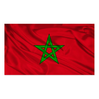 Flag of Morocco Business Card