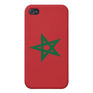 Flag of Morocco Covers For iPhone 4