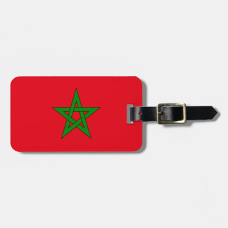 Flag of Morocco Easy ID Personal Luggage Tag
