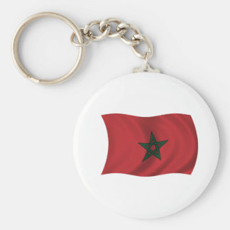 Flag of Morocco Key Ring