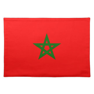 Flag of Morocco Placemat